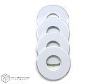 White VVashers™ - Set of 4